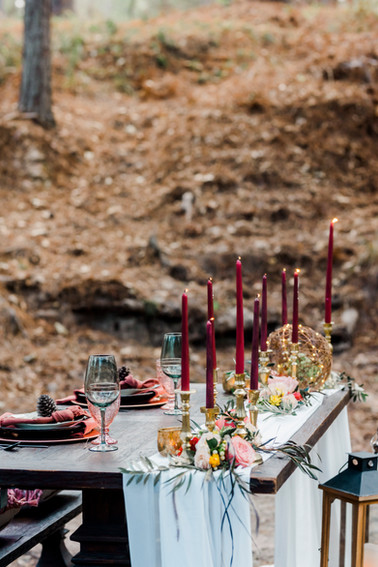 A tablescape that's off the beaten path