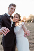 Sparkler send-offs are our fav...especially these HEARTS!