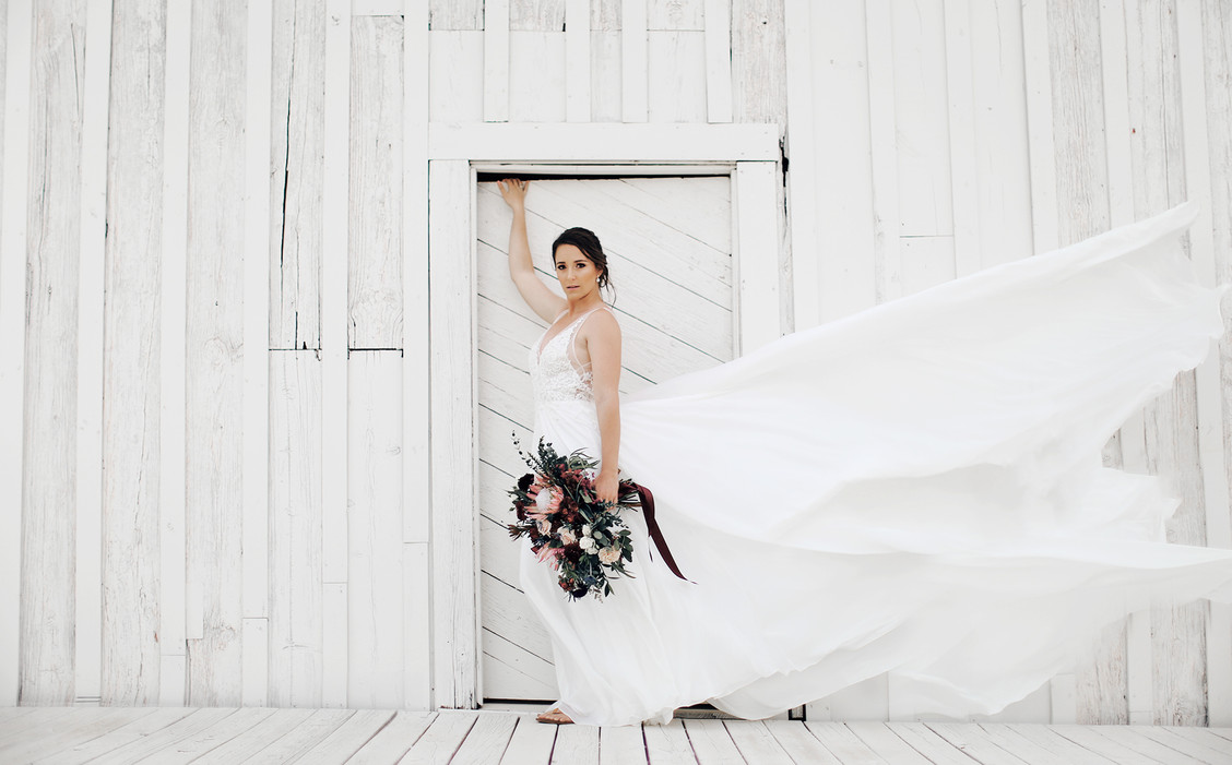 Bridal shot you won't soon forget