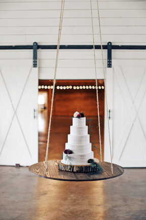 Suspended cakes take the cake