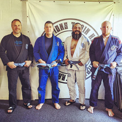 New Blue Belts!