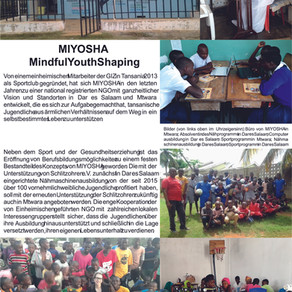 Miyosha, Ausbildung Jugendlicher / Tansania