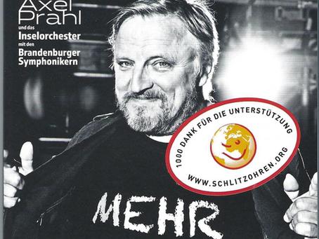 Axel Prahl unterstützt mit seiner Musik