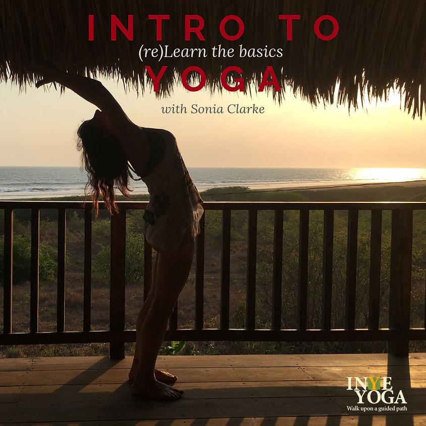 INTRO TO YOGA (September)