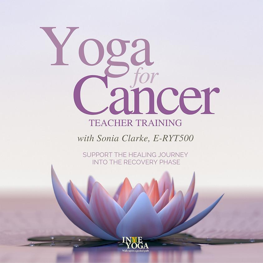 34 hrs YOGA FOR CANCER TEACHERS TRAINING