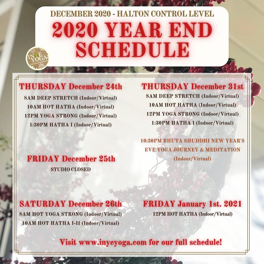 2020 YEAR END SCHEDULE