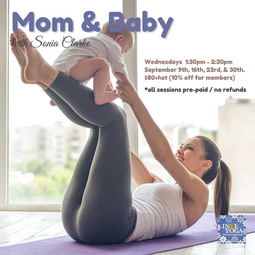 MOM & BABY YOGA (4 WEEKS SERIES: VIRTUAL / IN STUDIO)
