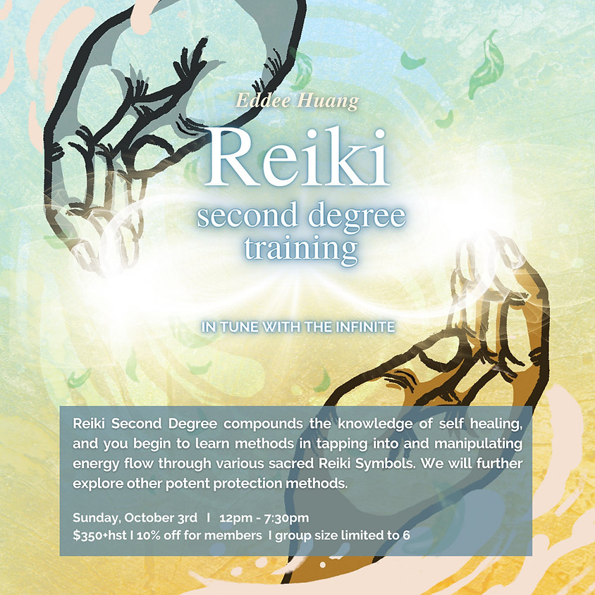 REIKI SECOND DEGREE TRAINING