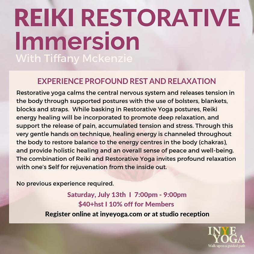 REIKI RESTORATIVE IMMERSION