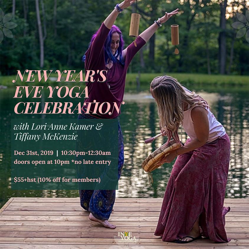 NEW YEAR'S EVE YOGA CELEBRATION (WORKSHOP FULL)