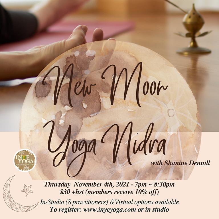 NEW MOON YOGA NIDRA (VIRTUAL & IN-STUDIO)