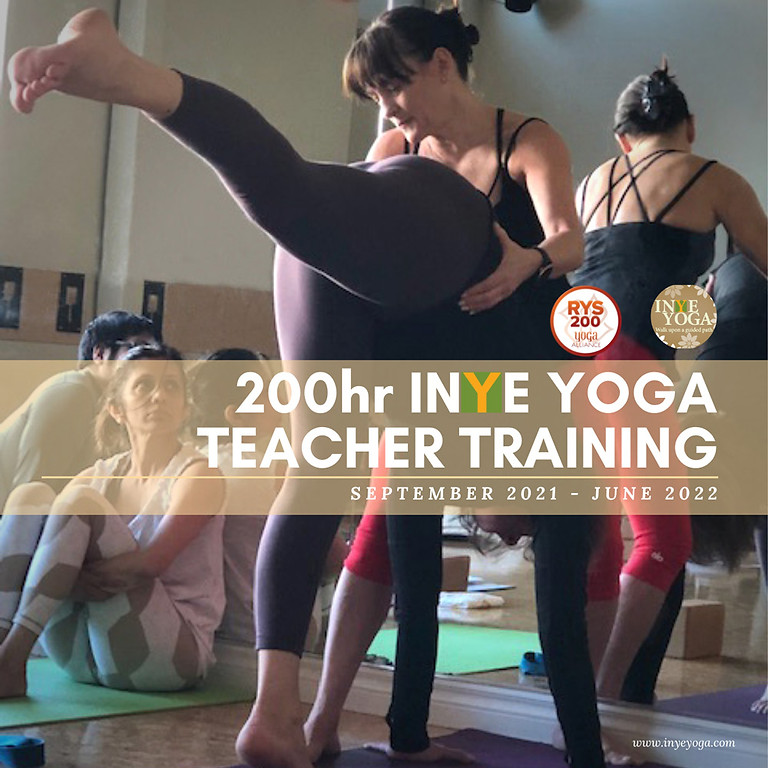 INYE YOGA TEACHER TRAINING (ENROL)