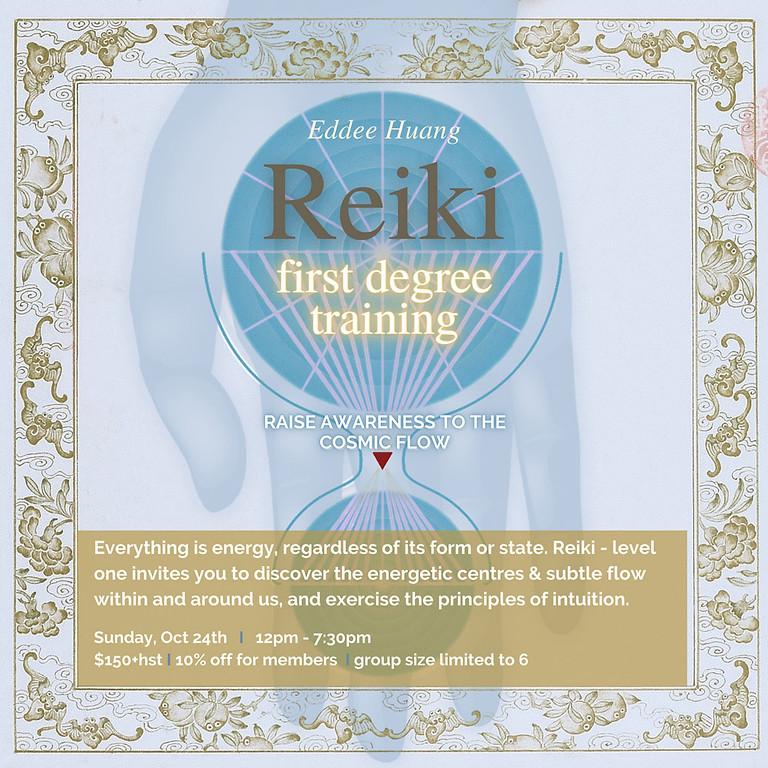 REIKI FIRST DEGREE TRAINING