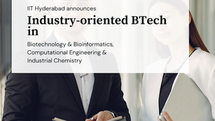 IIT Hyderabad to introduce three industry-oriented BTech courses