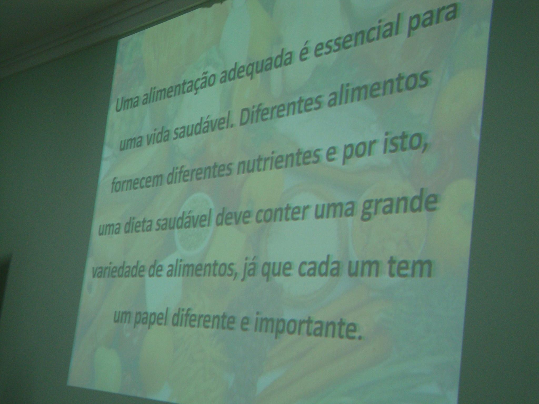 PALESTRA - ALIMENTAÇÃO - 23/09/14