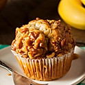 Banana Pecan Muffin