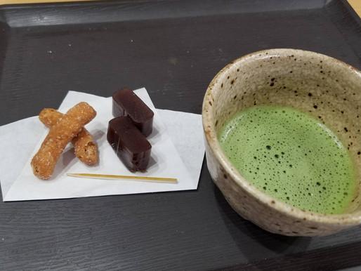 「お茶の会」を楽しみました。