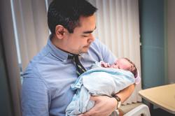 father newborn photographer