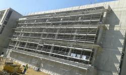 Ganja Shopping Center_facade work