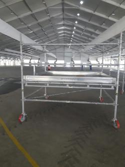 Mobile scaffold