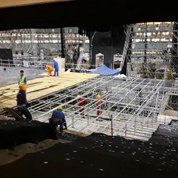 The scaffolding for the Plywood