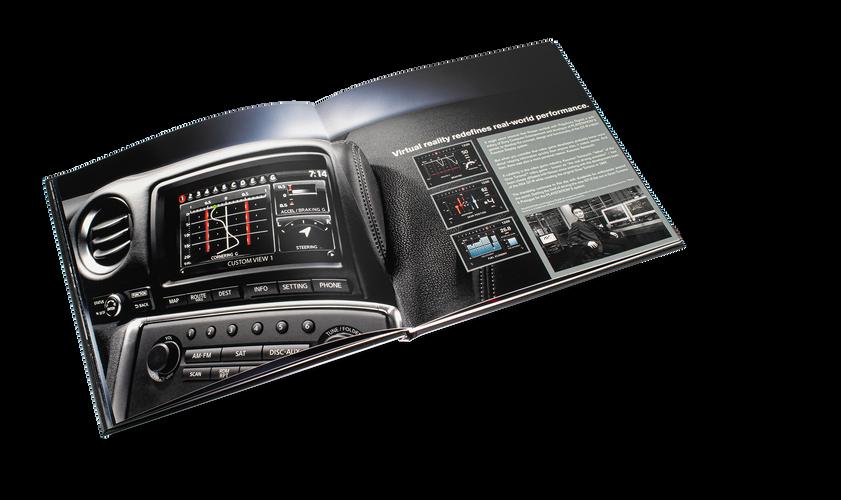 Nissan GTR Car Book Spread 07