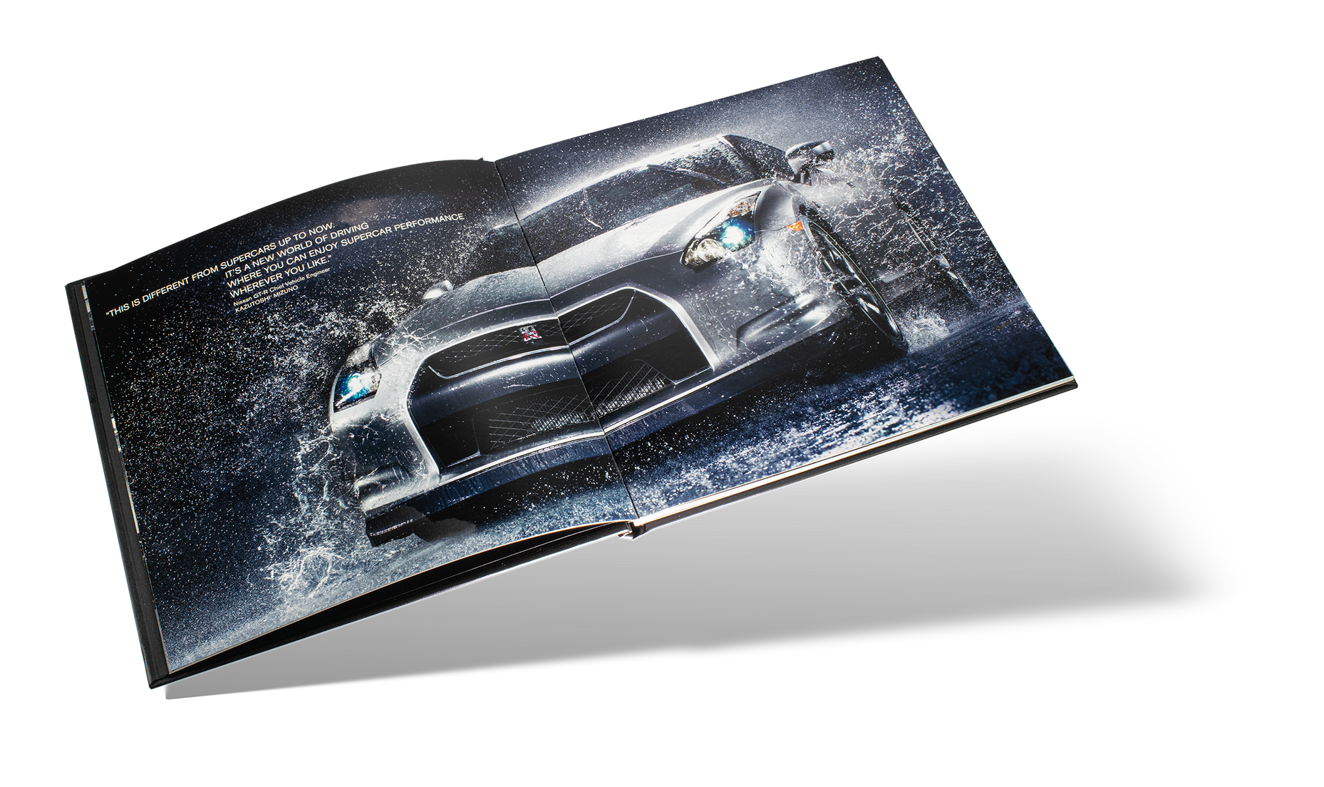 Nissan GTR Car Book Spread 03