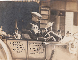 0400A Harry Atwood in Car Oct 5 1911