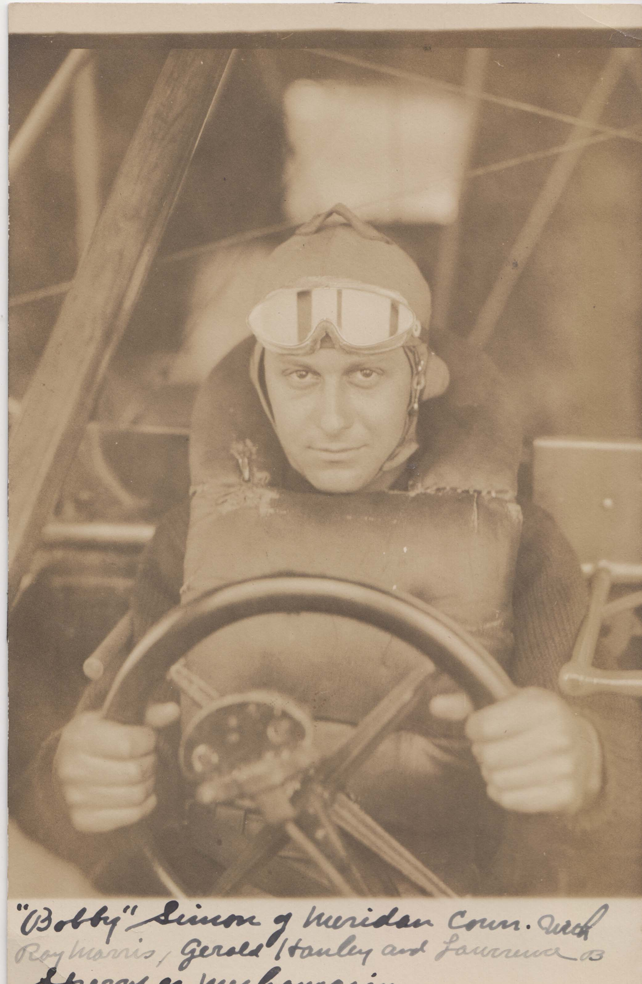 0242 Pilot in Cockpit; Write _Bobby_