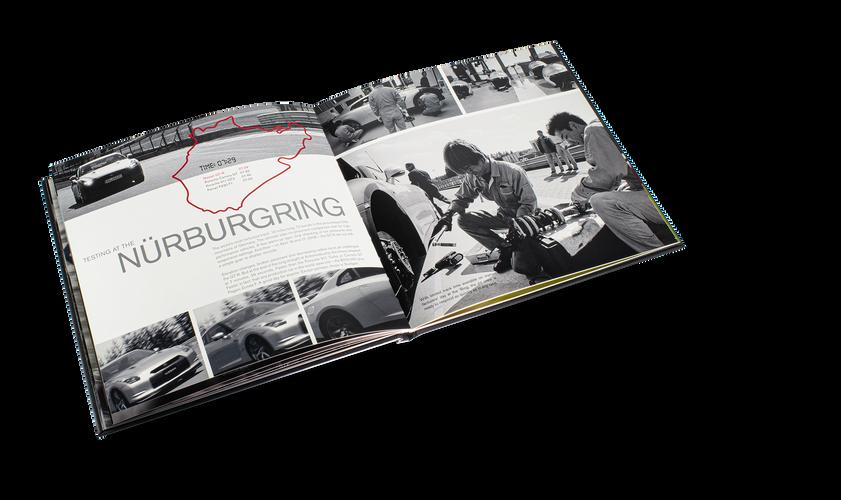 Nissan GTR Car Book Spread 11