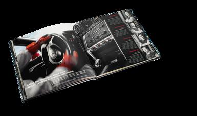 Nissan GTR Car Book Spread 10