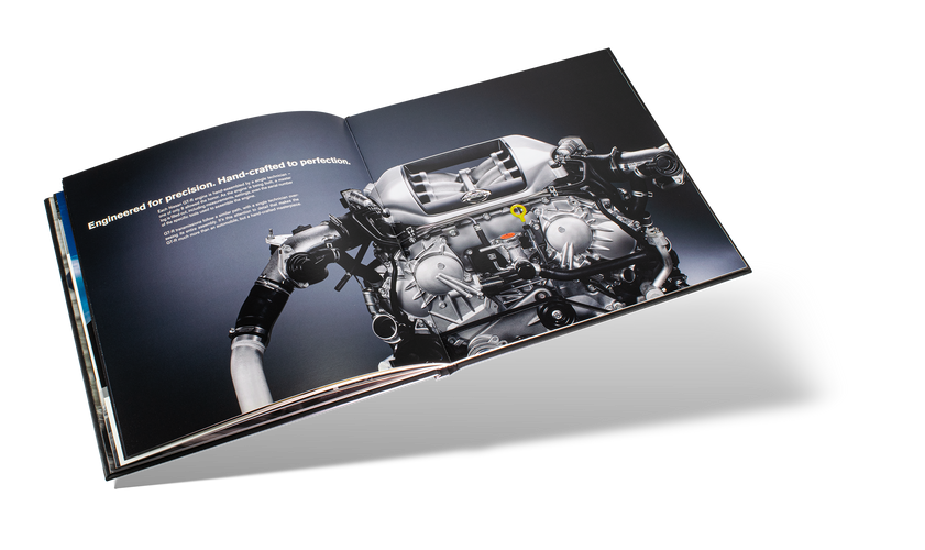 Nissan GTR Car Book Spread 16