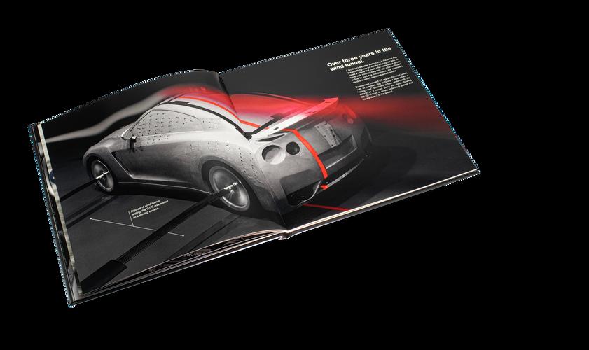 Nissan GTR Car Book Spread 09