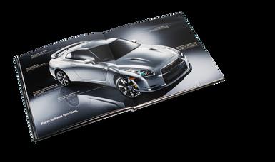 Nissan GTR Car Book Spread 06