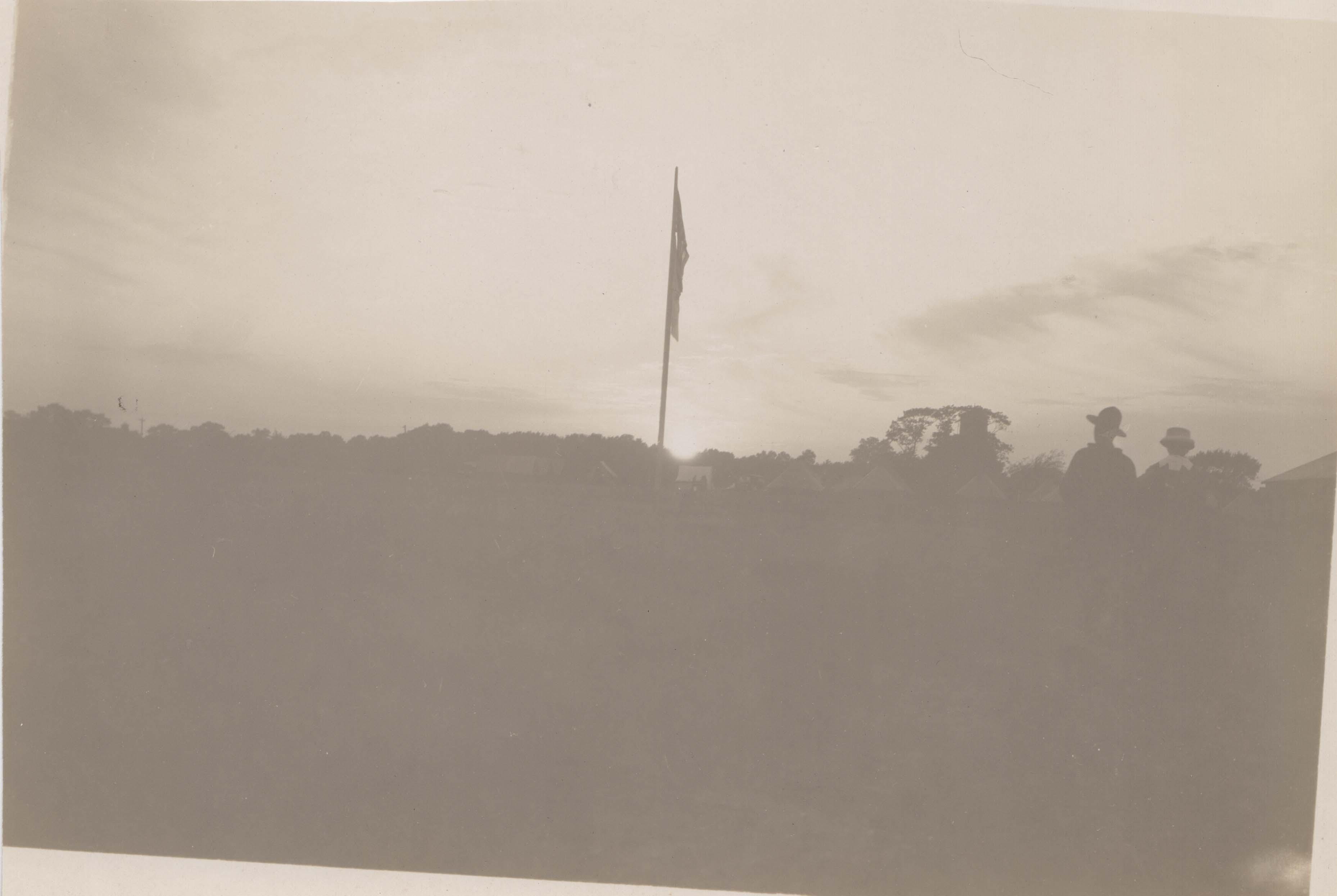 0175 Flag in the Sunrise