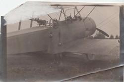 0452 Pilot near gunner on plane