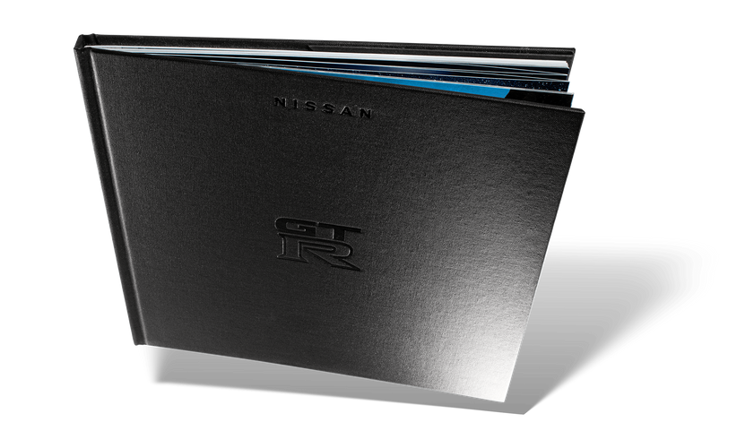 Nissan GTR Car Book