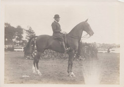 0196 Man on Horse