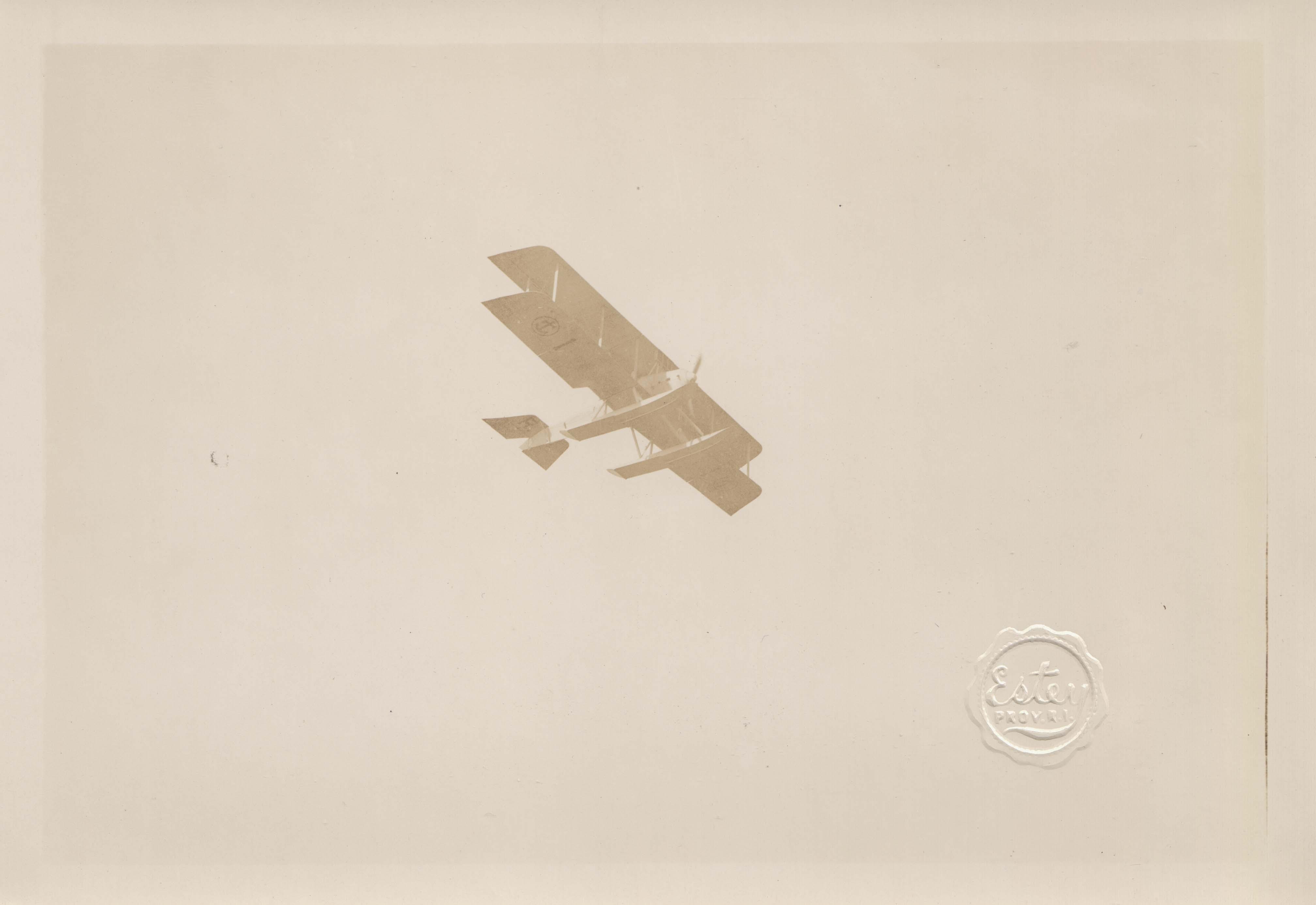 0061 Aeroplane in the sky