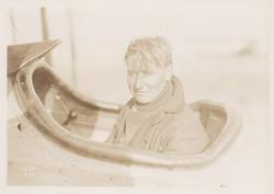 0177 Pilot in cockpit in Bright light
