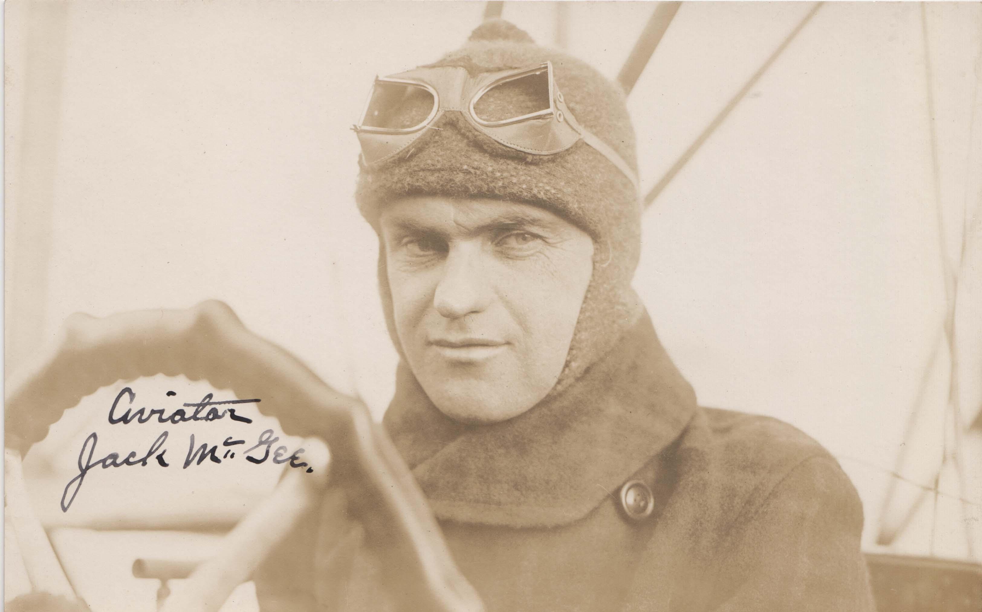 0181 Jack McGee postcard