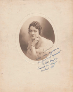 0255A French Autograph 1918