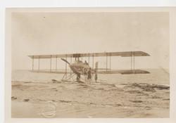 0040 Airplane on Beach