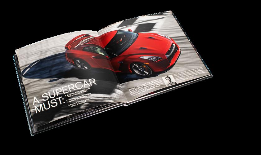 Nissan GTR Car Book Spread 08