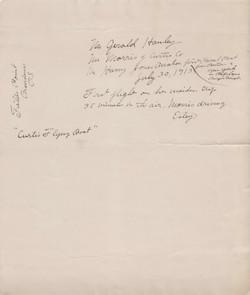 0239B Estey wrote to Mr. Gerald Hanley