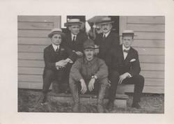 0188 Five Men with hats