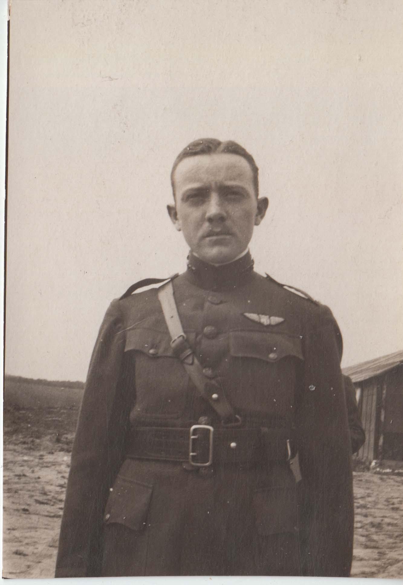 0441 Disgruntled Man in Uniform