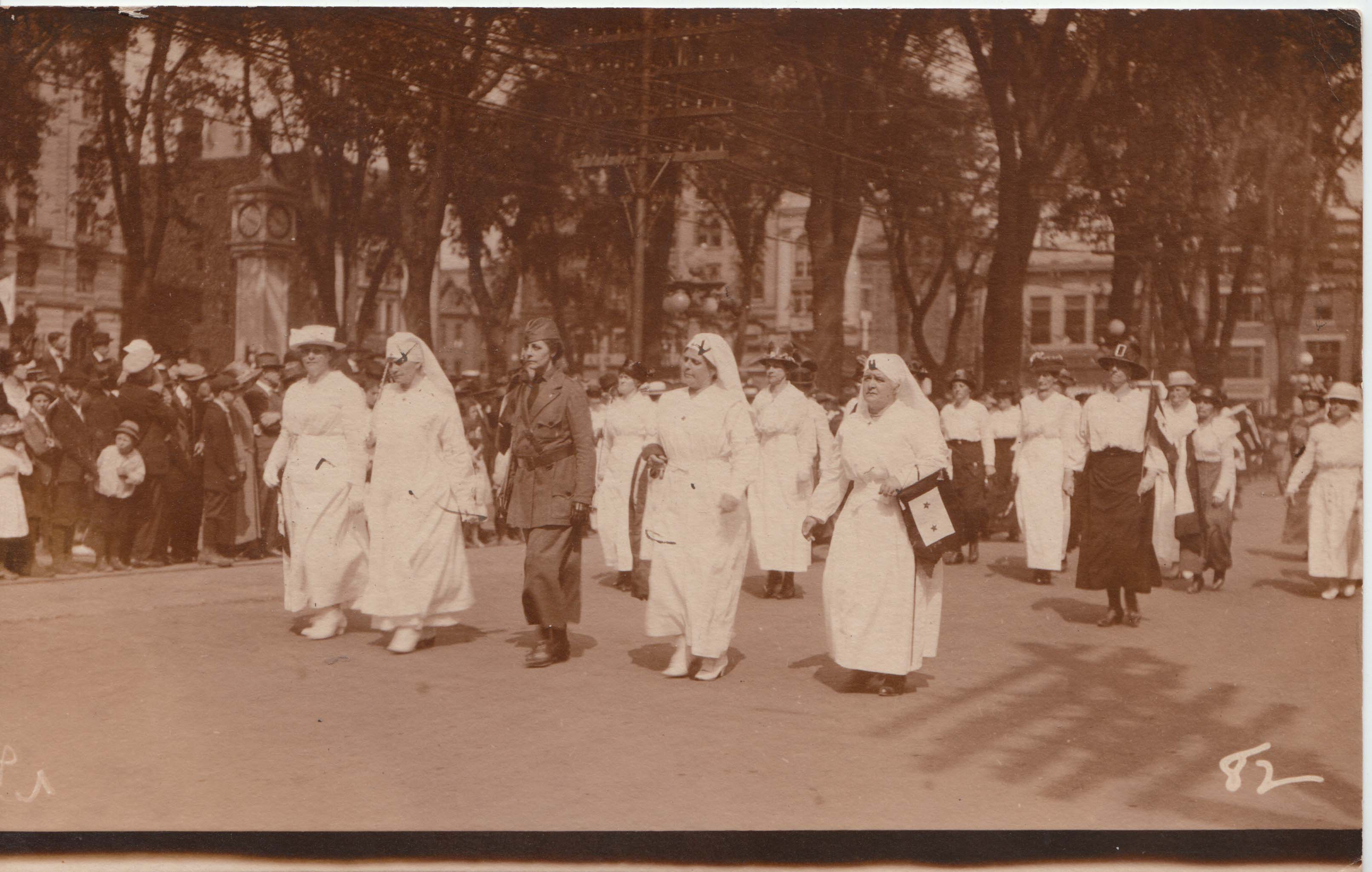0313 Military Women Marching