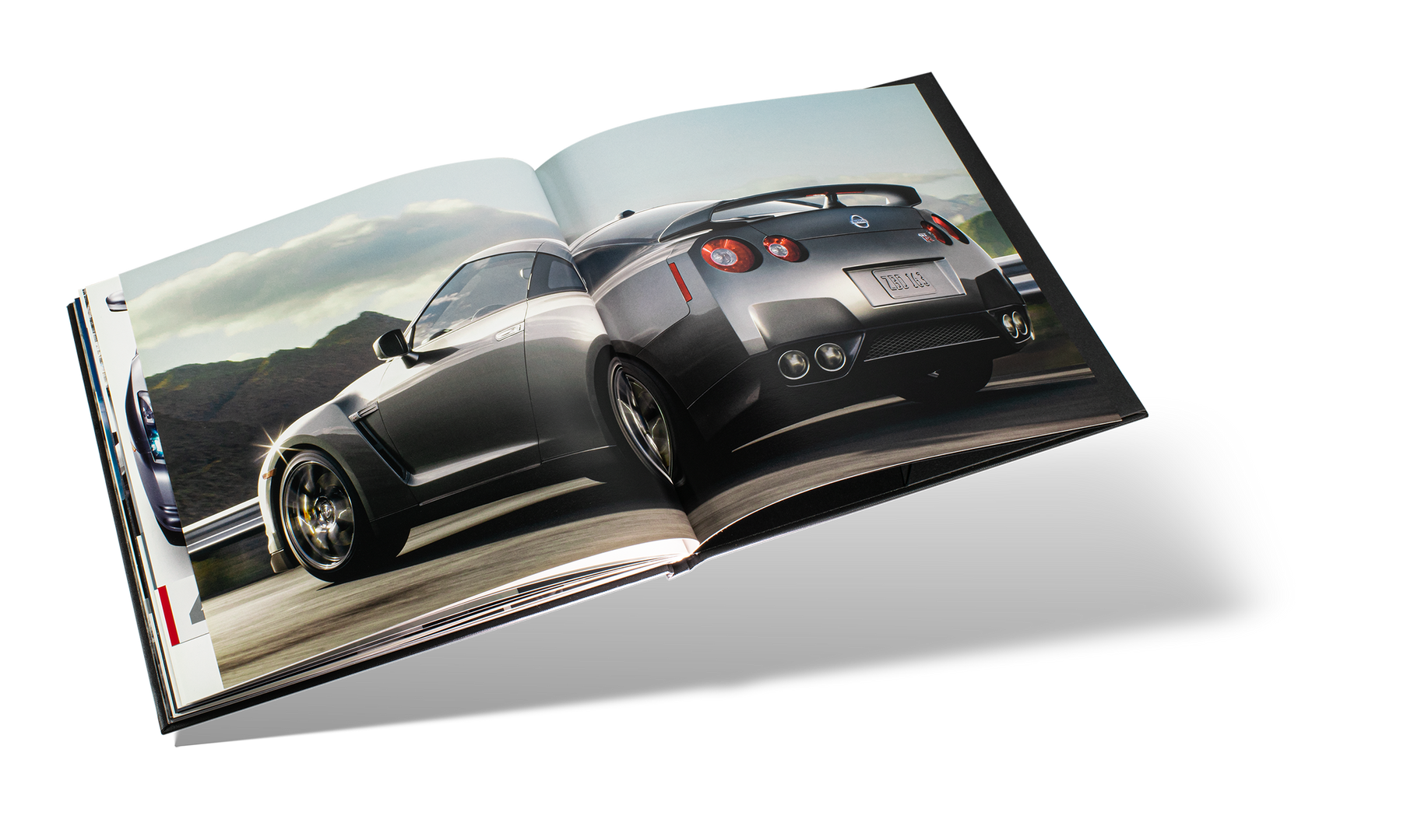Nissan GTR Car Book Spread 20