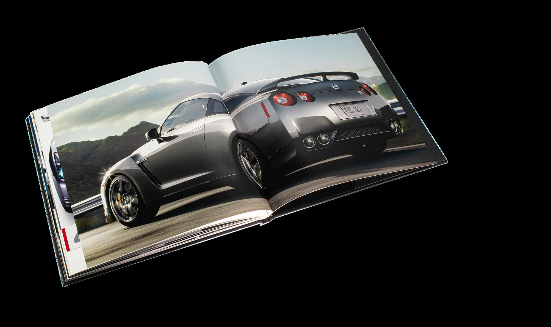 Nissan GTR Car Book Spread 20